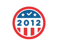 I Voted 2012 Badge
