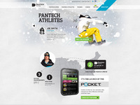 Pantech Winter Microsite Home