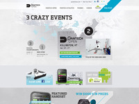 Pantech Winter Microsite Events