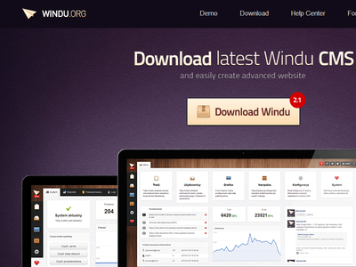 Download Windu CMS, new free CMS