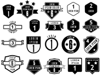 Ranks and badges mockup