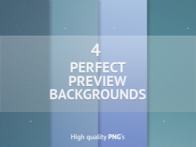 Download 4 Preview Backgrounds for Free
