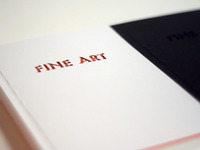Fine Art Catalogue White