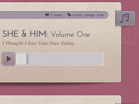Girly Tumblr Theme - Audio