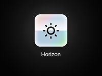 Horizon App iOS Icon - Remake