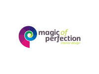 Magic of Perfection interior design studio logo design