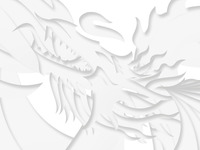 the fire dragon (update) illustration / web design