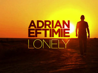 Adrian Eftimie - Lonely cd cover design
