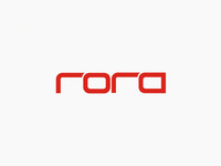 rora records label logo design