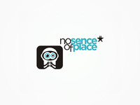 No Sence Of Place, records label, logo design