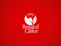 Horses Kingdom / Regatul cailor, equitation base, logo design