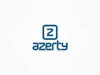 Azerty - online pc and electronics shop - logo design