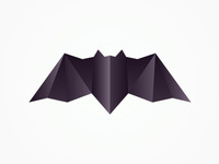 nocturn / alex tass logo design symbol: the bat