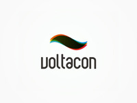 Voltacon alternative current company logo design
