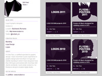 Behance profile. Rebound?