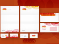 Fusion stationery design