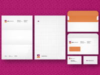 Web Architecten stationery design