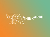 ThinkArch architecture competition logo design