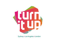 Turn It Up logo design