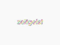 zeitgeist records label logo design
