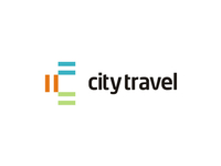 City Travel agency logo design