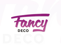 Fancy Deco logo design for home, decor and interior blog