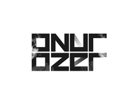Onur Ozer, EDM dj and producer logo design