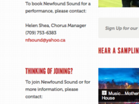 Newfound Sound Launched