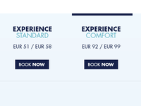 Pricing table tryouts for @bluelagoonis , most minimal
