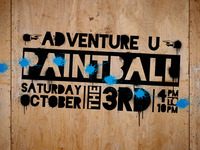 Paintball event branding
