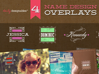name design overlays