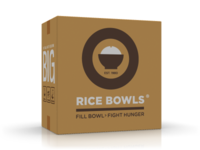 Rice Bowls (shipping box) design