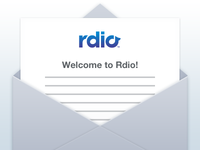Welcome to Rdio!