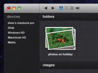 Finder in Lion Concept
