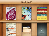 """iPad-Inspired"" Bookshelf"