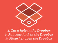 My **** in a Dropbox