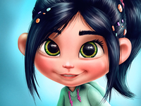 Vanellope (my variation)