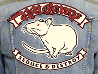 Rat Camp - Jacket Rocker Patches