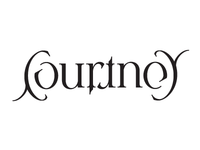 Courtney Rotational Ambigram