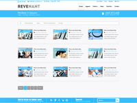 Portfolio Page of our latest Wordpress Theme