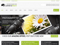 Camy - clean and bright Ecommerce Theme