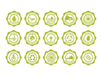 Leed Badges Full Set