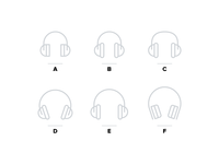Headphone Icons