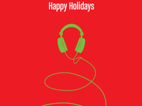 Direct Sound Holiday card