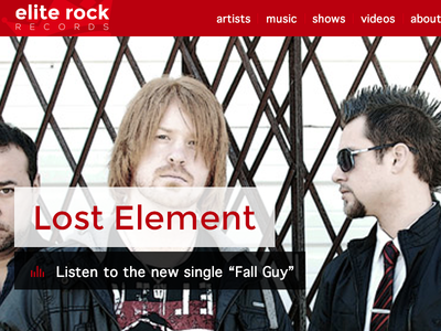 Elite Rock Records Web Header