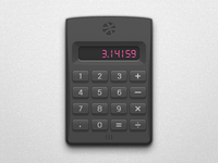 Calculator of dribbble