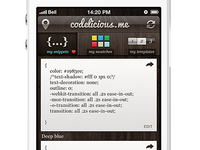 Codelicious Mockup Version 2