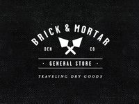 Logo for Brick & Mortar