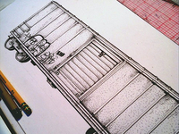 Boxcar drawing progress