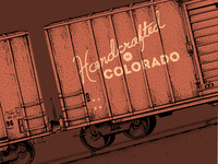 Boxcar illustration progress